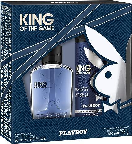 Playboy Fragrances, Set de fragancias para hombres - 1 Pack: Amazon.es: Belleza