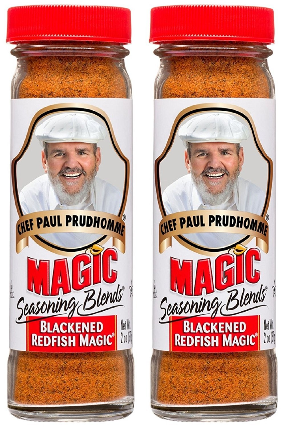 Chef Paul Prudhomme's Magic Seasoning Blends Chef Paul Blackened Redfish Magic Seasoning, 2-Ounce (Pack of 2)