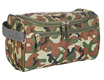 5e4088bca158 Amazon.com   iSuperb Hanging Toiletry Bag Travel Bag Water Resistant  Lightweight Wash Gym Shaving Bag Organizer for Women Men (camouflage)    Beauty
