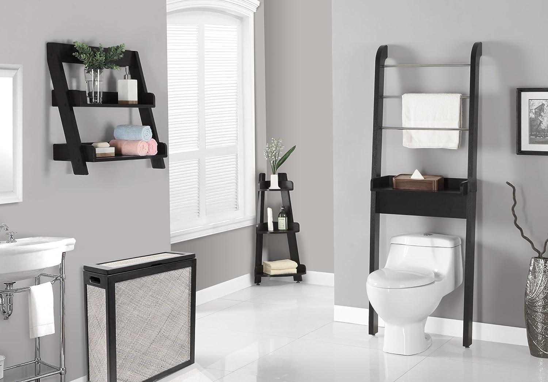 Amazon.com: Monarch Specialties Cappuccino Bathroom Space Saver ...