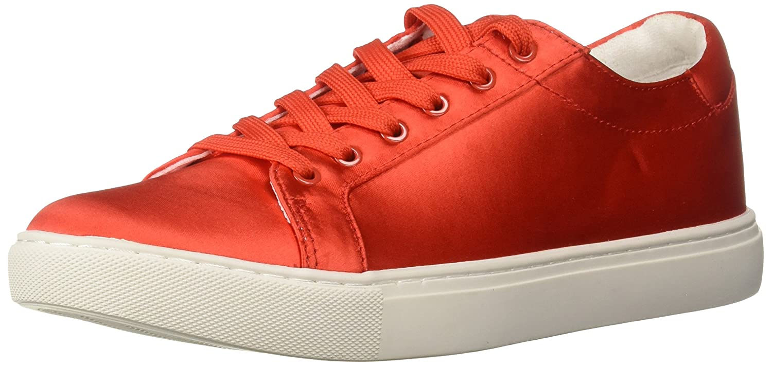 Kenneth Cole New York Women's Kam Techni-Cole Satin Lace-up Sneaker B07BT6WTDC 6.5 B(M) US|Persimmon