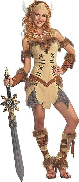Rubies 880266STD Disfraz Oficial de Princesa vikinga, para Adultos ...