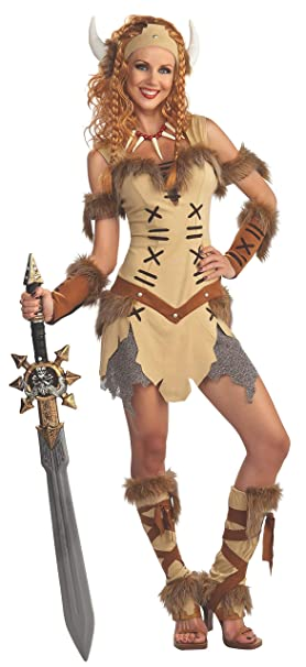 Rubies s – Disfraz de Vikingo Princesa Adultos Oficial – estándar