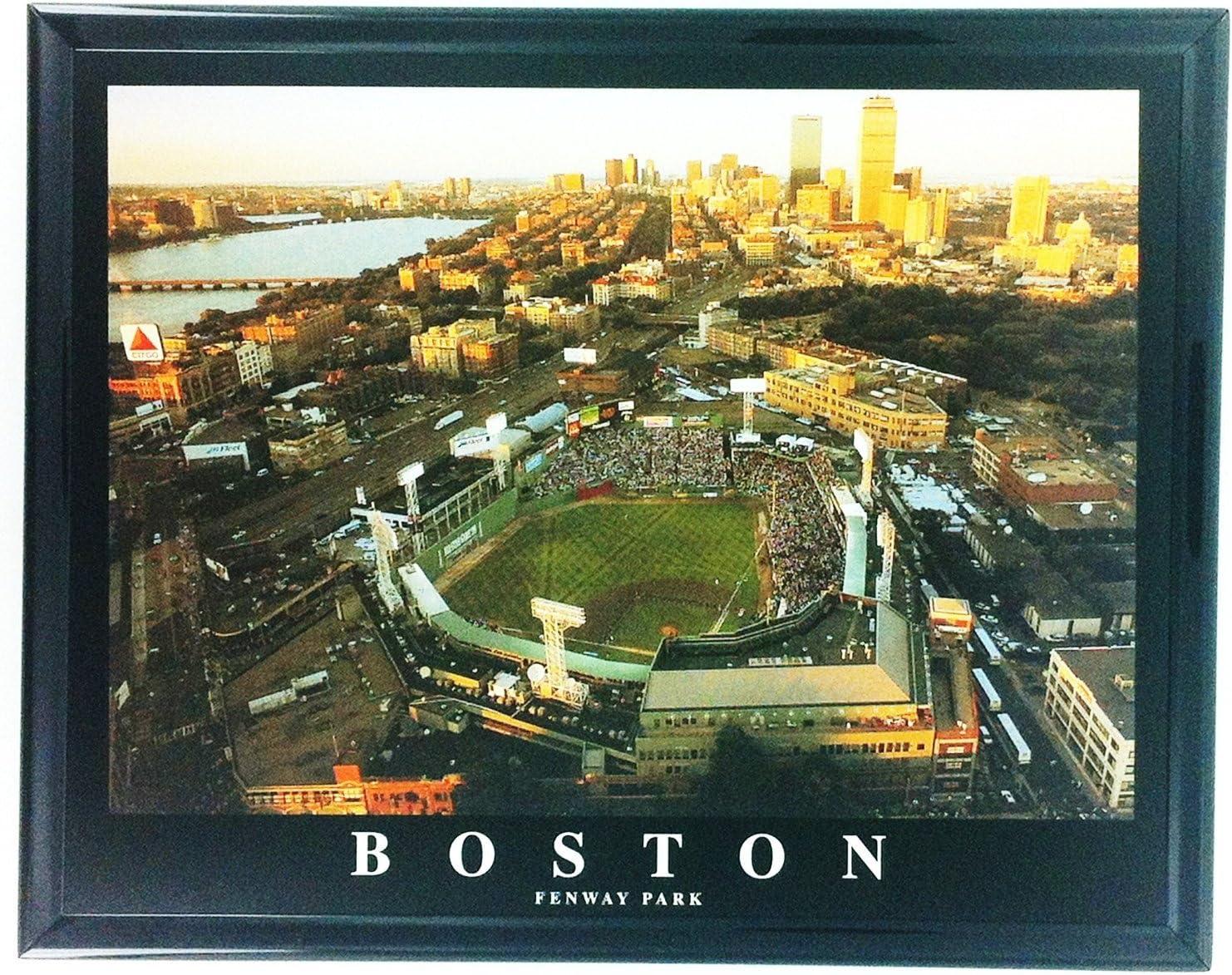 Framed Baseball Red Sox Boston Fenway Park Stadium F7504A
