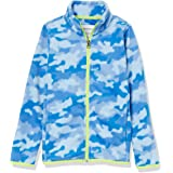 Amazon Essentials Boys' Polar Fleece Full-Zip Mock Jackets
