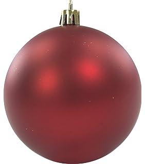Weihnachtskugeln Xxl.Christbaumkugel Kuststoff Pvc Xxl Silber 20cm Weihnachtskugeln