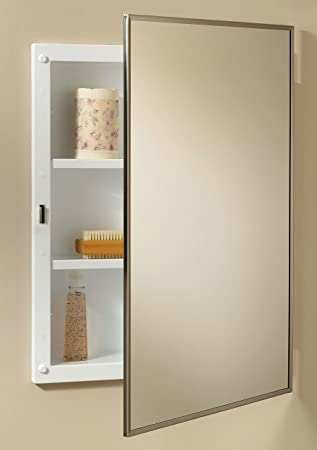 Beau Recessed Medicine Cabinet, Wood  17u0026quot;W X 27u0026quot;H   14u0026quot;