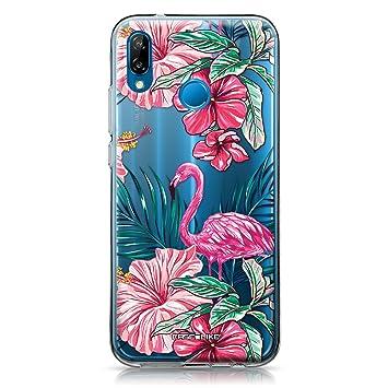 CASEiLIKE® Funda Huawei P20 Lite, Carcasa Huawei P20 Lite, Flamenco tropical 2239, TPU Gel silicone protectora cover