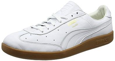 Kauf echt attraktive Farbe elegant im Stil Amazon.com: Puma Madrid Premium Trainers, Puma White-Puma ...