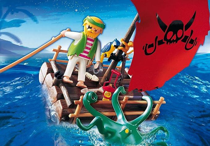 PLAYMOBIL 5780 - Balsa Pirata: Amazon.es: Juguetes y juegos