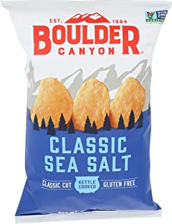 product image for Boulder Canyon Sea Salt Kettle Chips, 6.5 oz