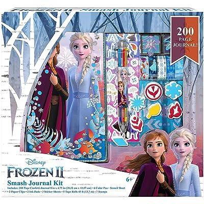 Disney Frozen 2 Journal Elsa and Anna Smash Journal Kit: Toys & Games
