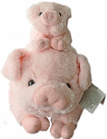 Amazon Com Exceptional Home Pigs Plush Stuffed Animals Set 18
