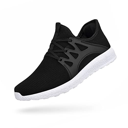cad893aa87c Troadlop Men's Athletic Running Shoes Ultra Lightweight Breathable Slip On  Work Sneakers