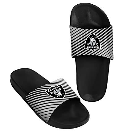 ac8b1d167b5 Amazon.com   NFL Football Mens Classic Shower Slide Beach Summer ...