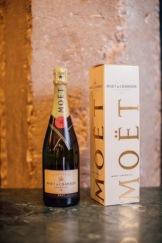 Champagne Moet & Chandon Brut 0,75 lt.: Amazon.es: Alimentación y bebidas