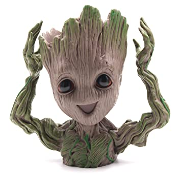 Guardianes de la Galaxia Groot Pen Pot Tree Man Pen Holder o ...