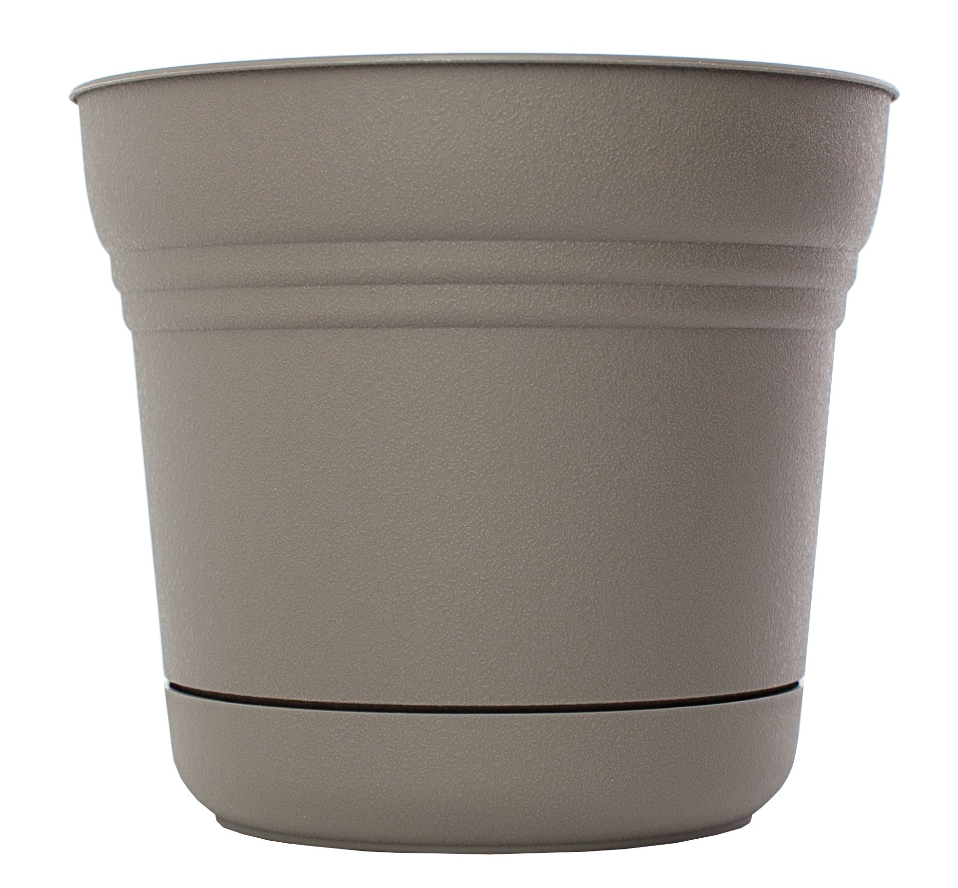 Bloem SP1260 Saturn Planter, 12-Inch, Peppercorn