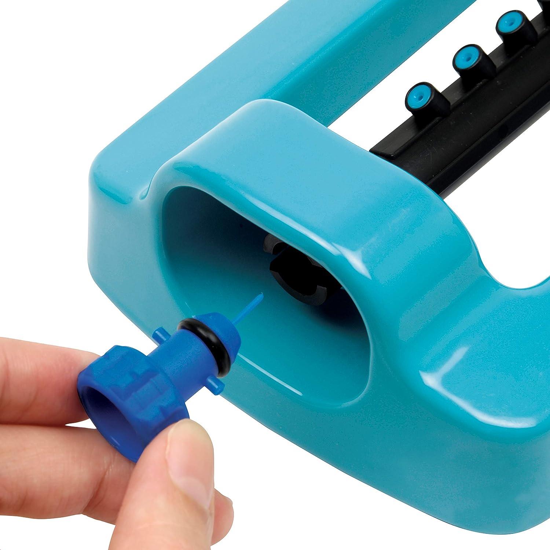 Uniflex 19701 5pz microirrigatori Sprinkler Universal 360 ° Ø Jet 4 MT NEW