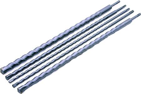 260mm /Ø 10mm SDS Plus X-ERGO Betonbohrer Steinbohrer Betonbohrer Hammerbohrer Bohrer Satz Bohrhammer Stein Bohrer 26cm Betonbohrer