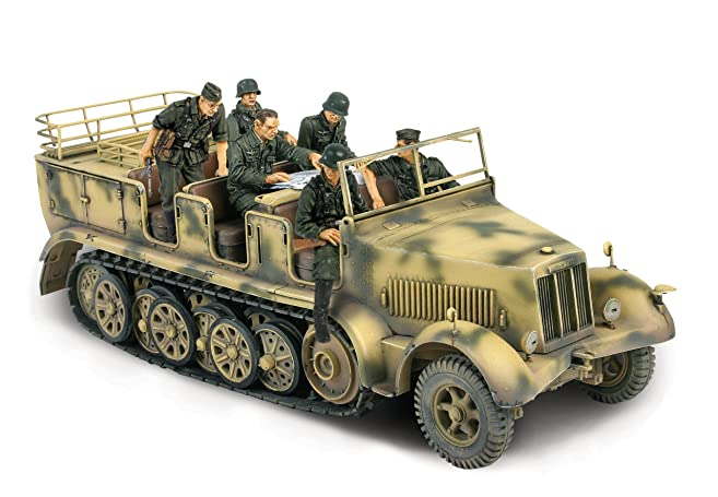 unimax toys. unimax forces of valor 1:32 scale german sd. kfz. 7 half- toys