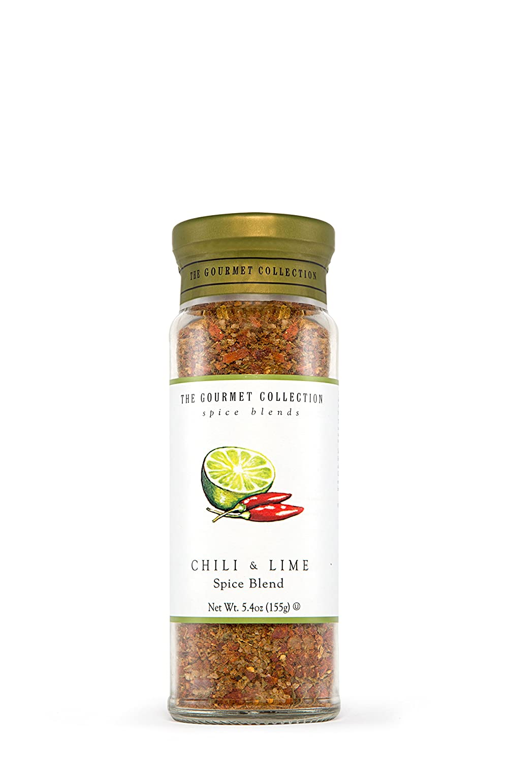 The Gourmet Collection Seasoning Blends, Chili and Lime Spice Blend - Seasoning for Cooking Fish, Soup, Chicken Wings, Salmon, Salads, Vegetables.