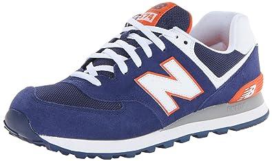New Balance , Baskets pour garçon Bleu bleu - Bleu - bleu, 38.5 EU