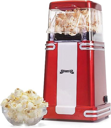 POPCORN MACCHINA POPCORN MACCHINA POPCORN macchina Popcornmaker US-DESIGN CARRELLO ROSSO