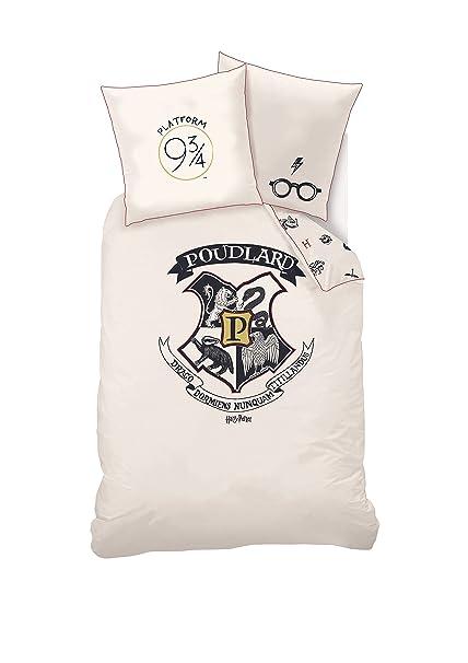 Lenzuola Harry Potter.Harry Potter Set Di Lenzuola Copripiumino 140 X 200 Cm
