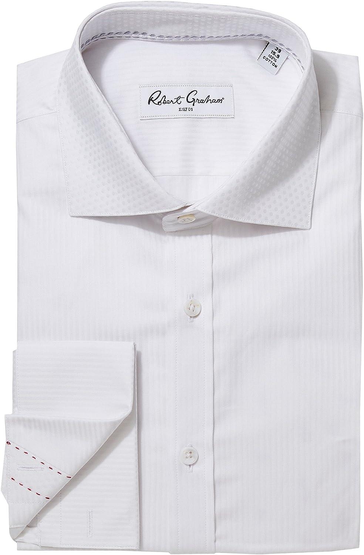 Amazon Robert Graham Mens Tux Vertical Stripe Dress Shirt Clothing