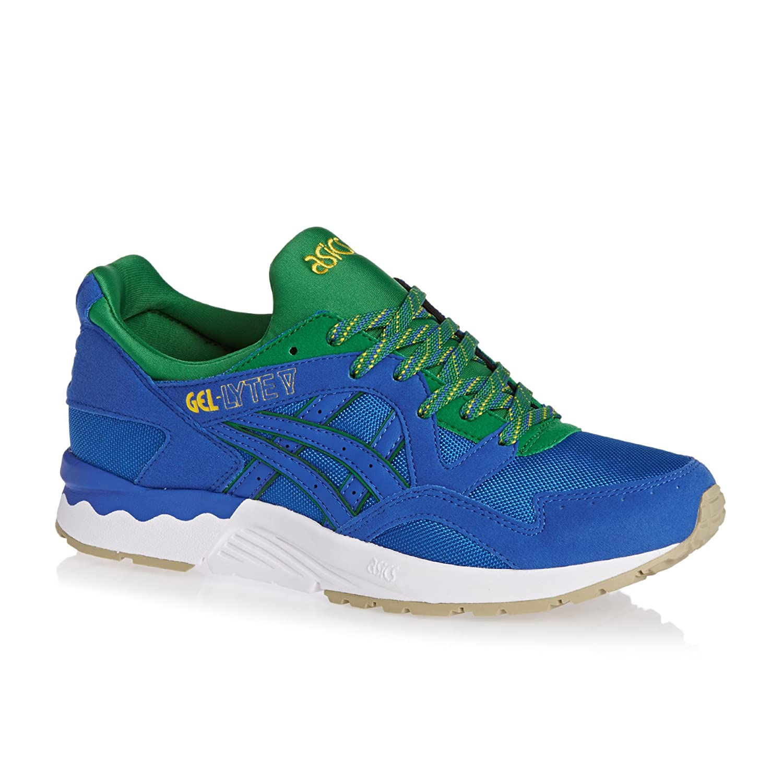 info for c693b 67ec9 Asics Mens Classic Blue Gel-Lyte V Trainers-UK 9