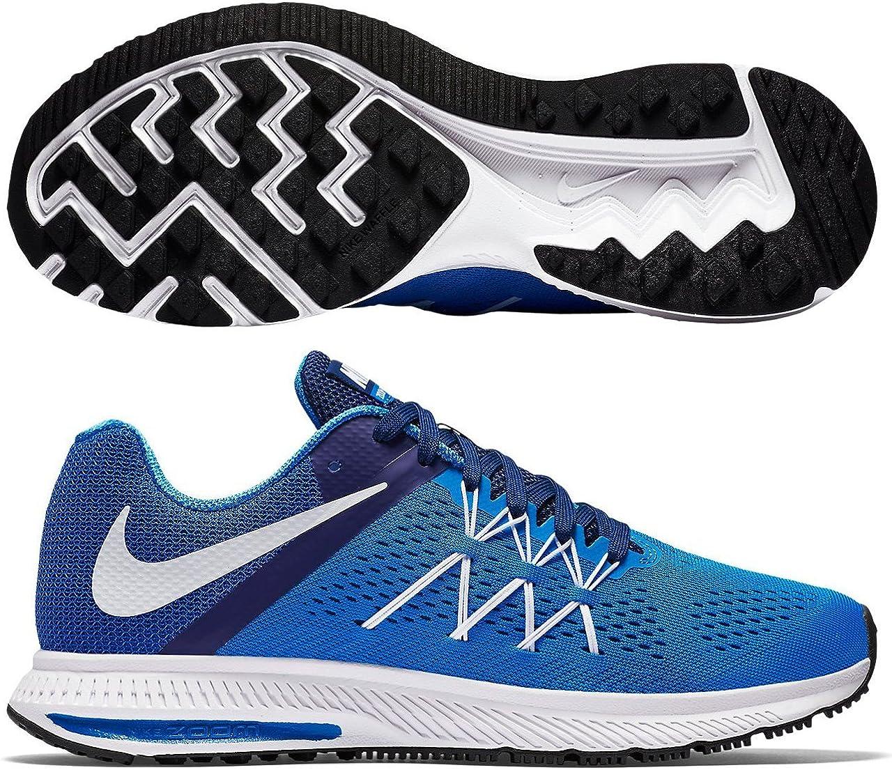 Nike Zoom Winflo 3, Zapatillas de Running para hombre, Azul (Photo Blue / White-Dp Royal Blue), 40 EU: NIKE: Amazon.es: Zapatos y complementos