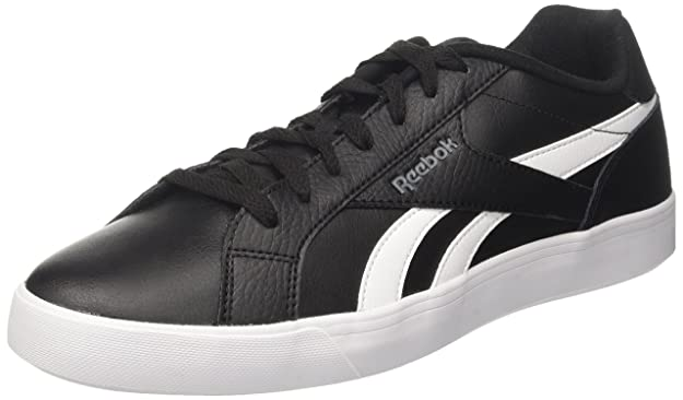 Reebok Royal Complete 2ll, Sneakers Basses Homme, Noir (Black/White/Alloy), 45.5 EU