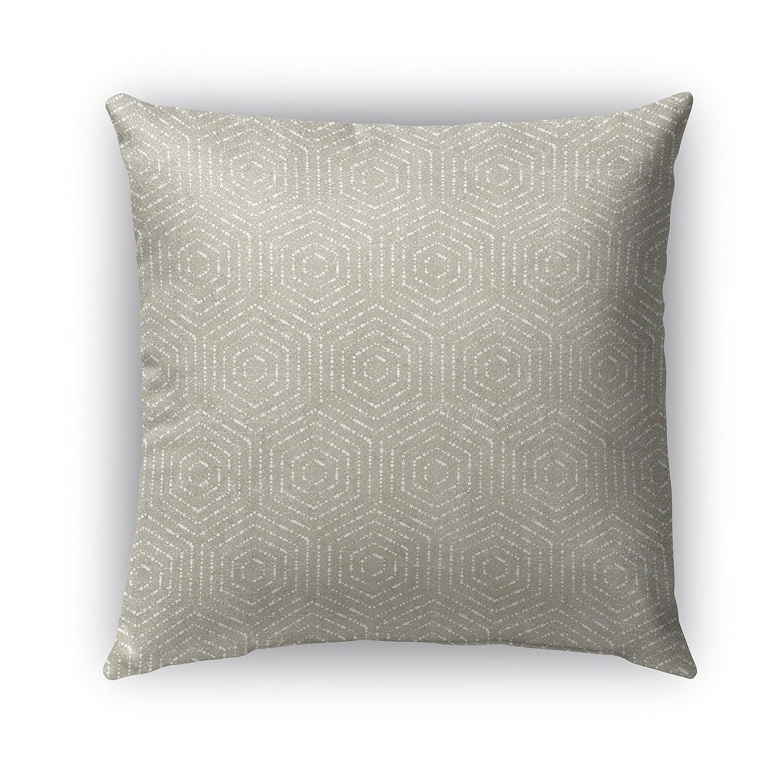 - Encompass Collection TELAVC8016OP18 Beige Size: 18X18X6 - KAVKA Designs Scandicci Indoor-Outdoor Pillow,