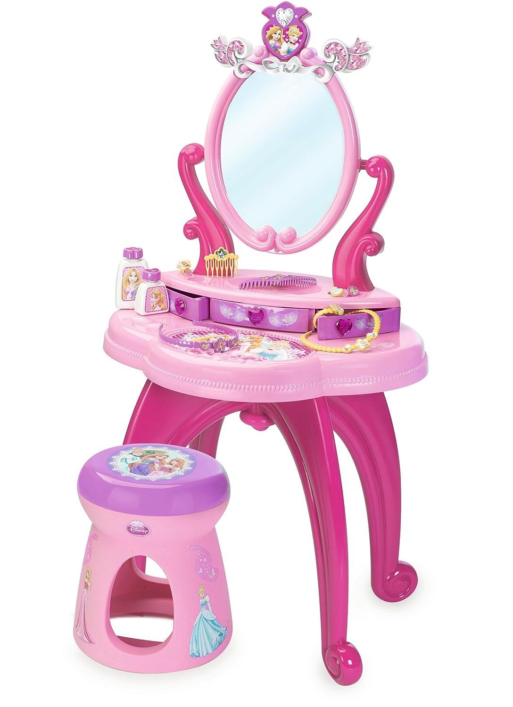Smoby 7600024232 - Disney Princess Specchiera 2 in 1 con Sgabello Simba Toys Italia S.p.A.