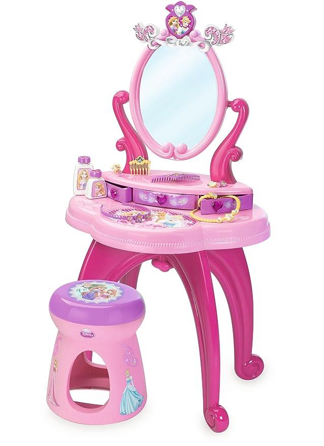 Smoby Schminktisch - Smoby Frisiertisch Disney Princess mit schwenkbarem Spiegel