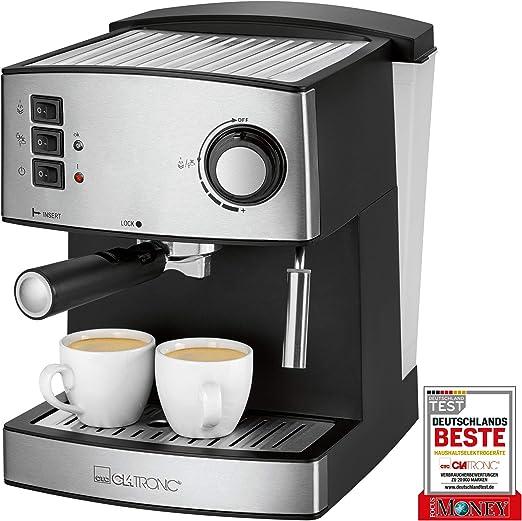 Clatronic ES 3643 - Cafetera Espresso 15 Bares: Clatronic: Amazon.es: Hogar