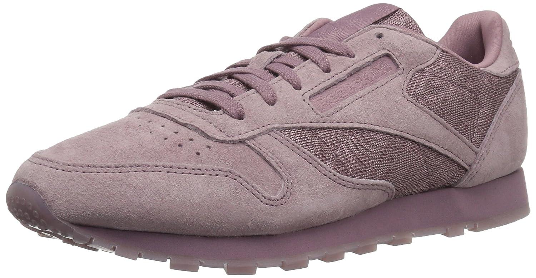 Reebok Women's Cl Lthr Lace Sneaker B074TSNPD1 6.5 B(M) US|Smoky Orchid/White