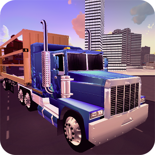 Cargo Transport Truck Simulator 2016: City and Offroad - Log Truck Games