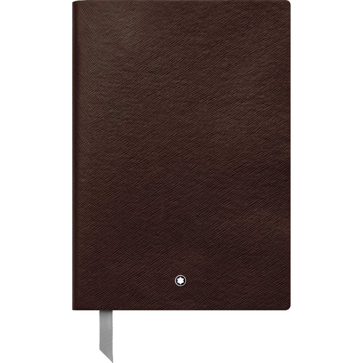 Montblanc Notebook Tobacco Squared #146 Fine Stationery 113638 / Elegant Journal with Leather Binding and Quadrille Pages / 1 x (5.9 x 8.2 in.)