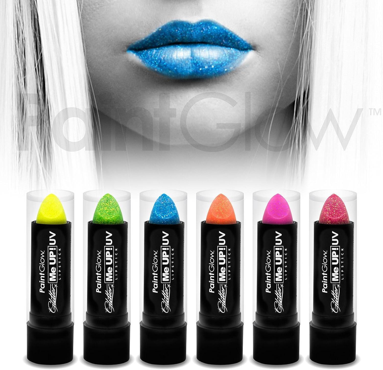 PaintGlow - Barra de maquillaje para rostro y cuerpo con purpurina ...