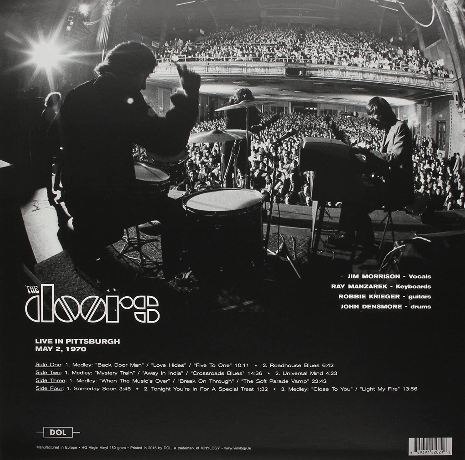 I found this record at a record store. I listened to it from start to finish. If you love the Doors and you want a great vinyl record to add to your ... & The DOORS \u2013 \u201d Live in Pittsburgh Civic Arena \u201d 2nd May 1970 | The ...