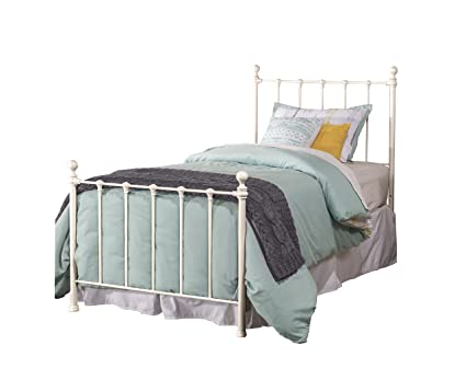 Amazon.com: Hillsdale Furniture 1222BTWR Molly Bed Set with Rails ...