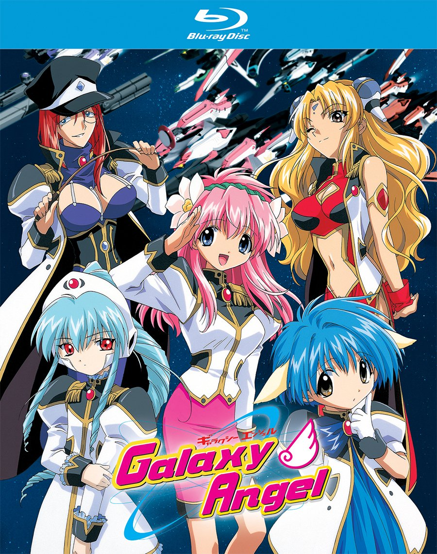 Blu-ray : Galaxy Angel: Collection (2 Pack, Subtitled, 2PC)