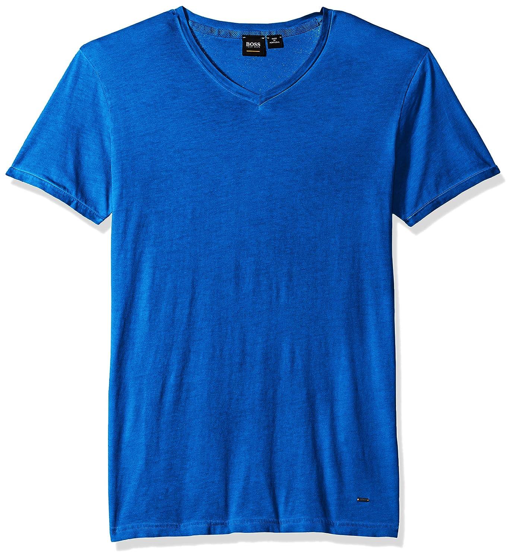 Hugo Boss Men's Trace Slim Fit V-Neck T-Shirt BOSS Orange 50378172