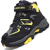 Mishansha Zapatos de Senderismo para Niño Calor Zapatillas de Montaña Invierno