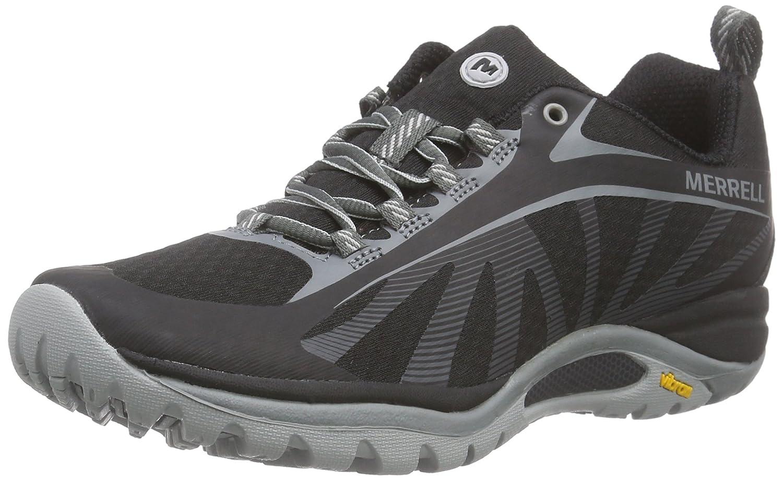 Black Merrell Womens Siren Edge Hiking shoes
