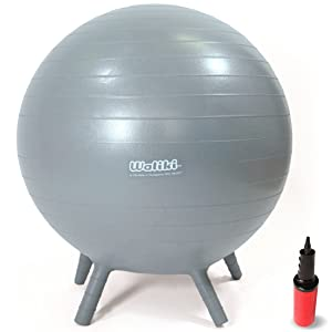 """WALIKI Adult Size Chair Ball with Feet 