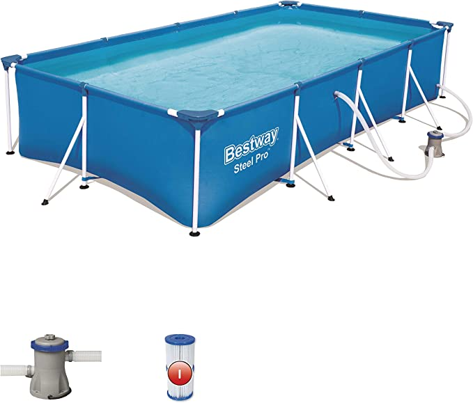 Bestway 56424 - Piscina Desmontable Tubular Infantil Family Splash ...