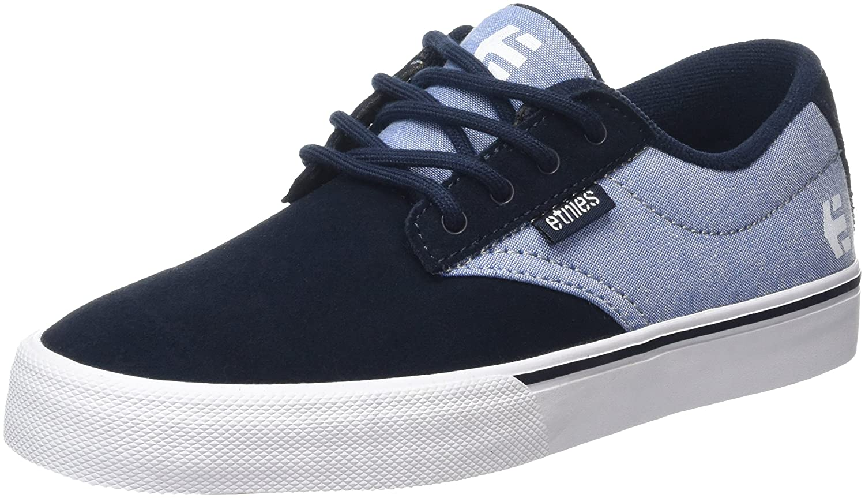 Etnies Women's Jameson Vulc Skate Shoe B0199WAAR2 5.5 B(M) US Blue/White/Gum